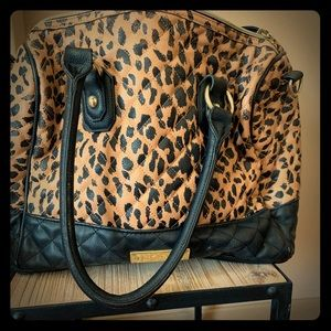 Betsy Johnson Cheetah Print Purse
